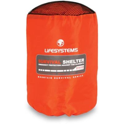 Lifesystems Survival Shelter vindsekk, tarp og biviposer på Addnature.no